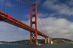 Golden Gate Bridge. San Francisco Stock Photo
