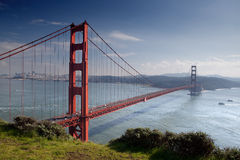 Golden Gate Bridge. Stock Photos