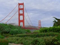 Golden Gate Bridge. A view of the Golden Gate Bridge Royalty Free Stock Images