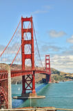 Golden gate bridge. The golden gate bridge in san francisco, california, USA Royalty Free Stock Photography