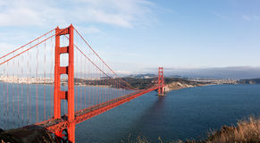 Golden Gate Bridge. Is a very famous landmark of San Francisco, California, United States Stock Photography