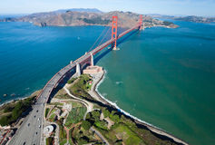 The Golden Gate Bridge Stock Photography