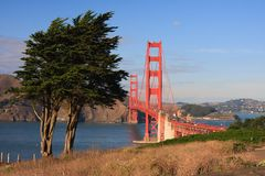 Golden Gate Bridge. San Francisco, California Royalty Free Stock Images
