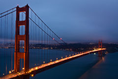 The Golden Gate Bridge Stock Photos
