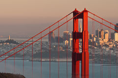Golden Gate Bridge. Royalty Free Stock Photography