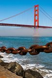 Golden Gate Bridge. The Golden Gate Bridge in San Francisco, California, USA Stock Photography