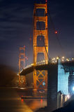 Golden Gate Bridge. Royalty Free Stock Photo