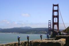 Golden Gate Bridge. In San Francisco California Stock Photography