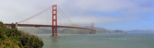 The Golden Gate Bridge Royalty Free Stock Photography