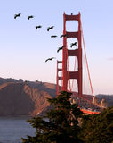 Golden Gate bridge. San Francisco, California Stock Photos