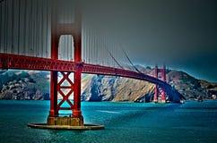 Golden gate bridge Fotografie Stock Libere da Diritti