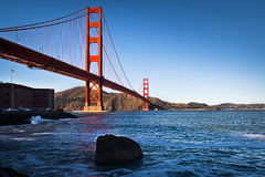Golden gate bridge fotografia stock