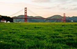 Golden Gate Bridge. One of the major landmarks in San Francisco, California, USA Stock Images