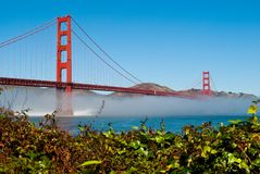 Golden Gate Bridge. The Golden Gate Bridge in San Francisco, California, USA Royalty Free Stock Images