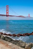 Golden Gate Bridge. The Golden Gate Bridge in San Francisco, California, USA Stock Photos