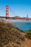Golden Gate Bridge. The Golden Gate Bridge in San Francisco, California, USA Stock Images