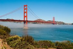 Golden Gate Bridge. The Golden Gate Bridge in San Francisco, California, USA Stock Image