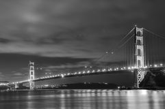 Golden gate bridge Immagini Stock Libere da Diritti