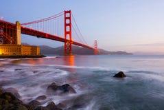 Golden gate bridge lizenzfreie stockfotografie