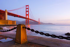 Golden gate bridge stockbilder