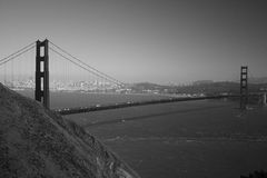 Golden gate bridge Images libres de droits