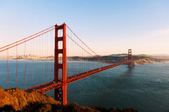 Golden gate bridge Fotografia Stock Libera da Diritti