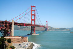 Golden gate bridge Royalty-vrije Stock Afbeeldingen