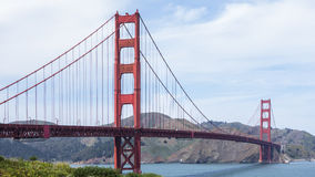 Golden gate bridge Royalty-vrije Stock Foto's