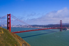 Golden gate bridge Fotografie Stock Libere da Diritti
