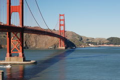 Golden Gate Bridge. In San Francisco,California Royalty Free Stock Images