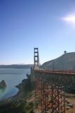 Golden Gate Bridge. On a bright December Morning Royalty Free Stock Image