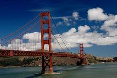 Golden Gate Bridge. The Golden Gate Bridge, San Francisco, California stock photo