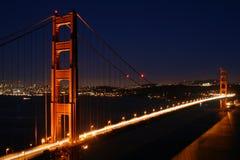 Golden gate bridge imagens de stock