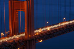Golden Gate Bridge. At Dusk Stock Photography