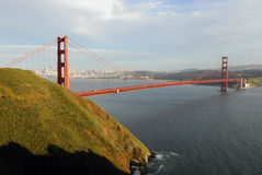 Golden Gate Bridge. In the afternoon Stock Photo