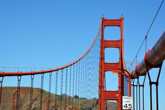 : Golden gate bridge Foto de Stock Royalty Free