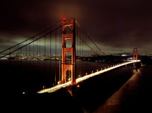 Golden Gate Bridge Royalty Free Stock Photos