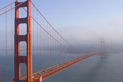 Golden Gate Bridge. A View of Golden Gate Bridge stock photos