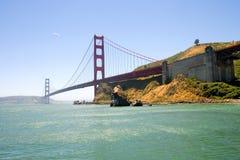 Golden Gate Bridge. A photograph of the Golden Gate Bridge Royalty Free Stock Photography
