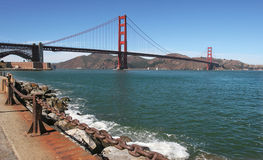 Golden Gate bridge. View on Golden Gate bridge in San Francisco, USA Stock Photography