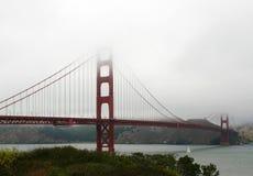 Golden Gate Bridge. In the Fog Stock Photos