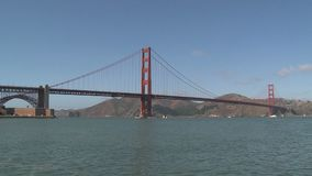 The Golden Gate Bridge stock video