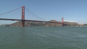 The Golden Gate Bridge stock video footage
