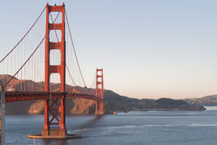 Golden Gate bridge, afternoon, Stock Images