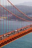 Golden gate bridge-Ansicht lizenzfreie stockbilder
