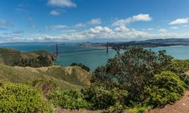 Golden Gate Bridge - San Francisco Stock Photography