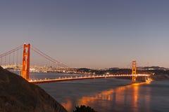 Free Golden Gate Bridge At Dusk Stock Images - 19403184