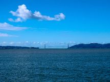 Golden gate bridge auf Sunny Afternoon stockfoto
