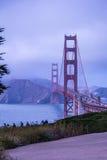 Golden Gate Bridge in August Stock Images