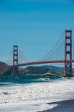 Golden Gate Bridge at Baker Beach Royalty Free Stock Photo